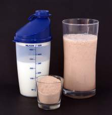 Dieta do soro de leite